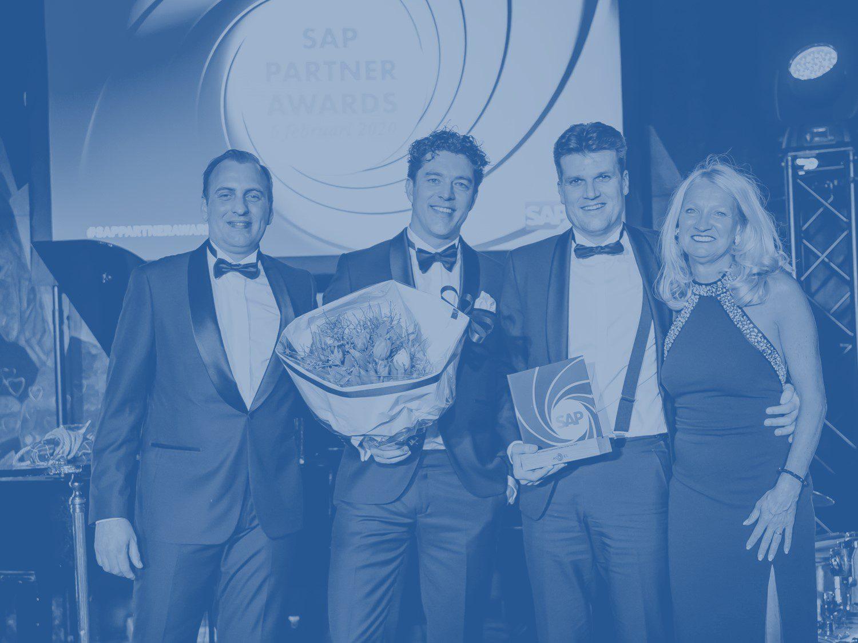 Trots op SAP Customer Experience Partner award