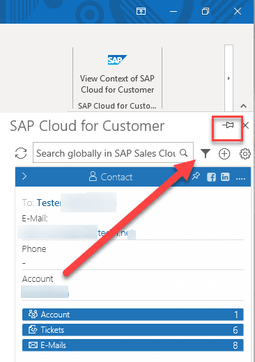 5 Tips for Outlook Server-based integration with SAP Cloud for Customer, Acorel