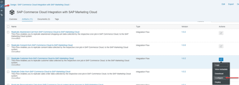 , Improve User Experience by integrating SAP Marketing Cloud and SAP Commerce Cloud using SAP Cloud Platform Integration, Acorel