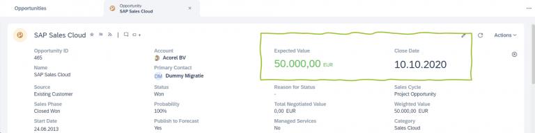", Taking the new SAP Sales Cloud UI ""Saphira"" for a test drive, Acorel"
