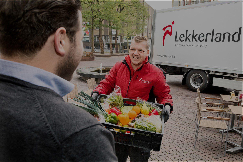 Lekkerland klant levering service centrum stad