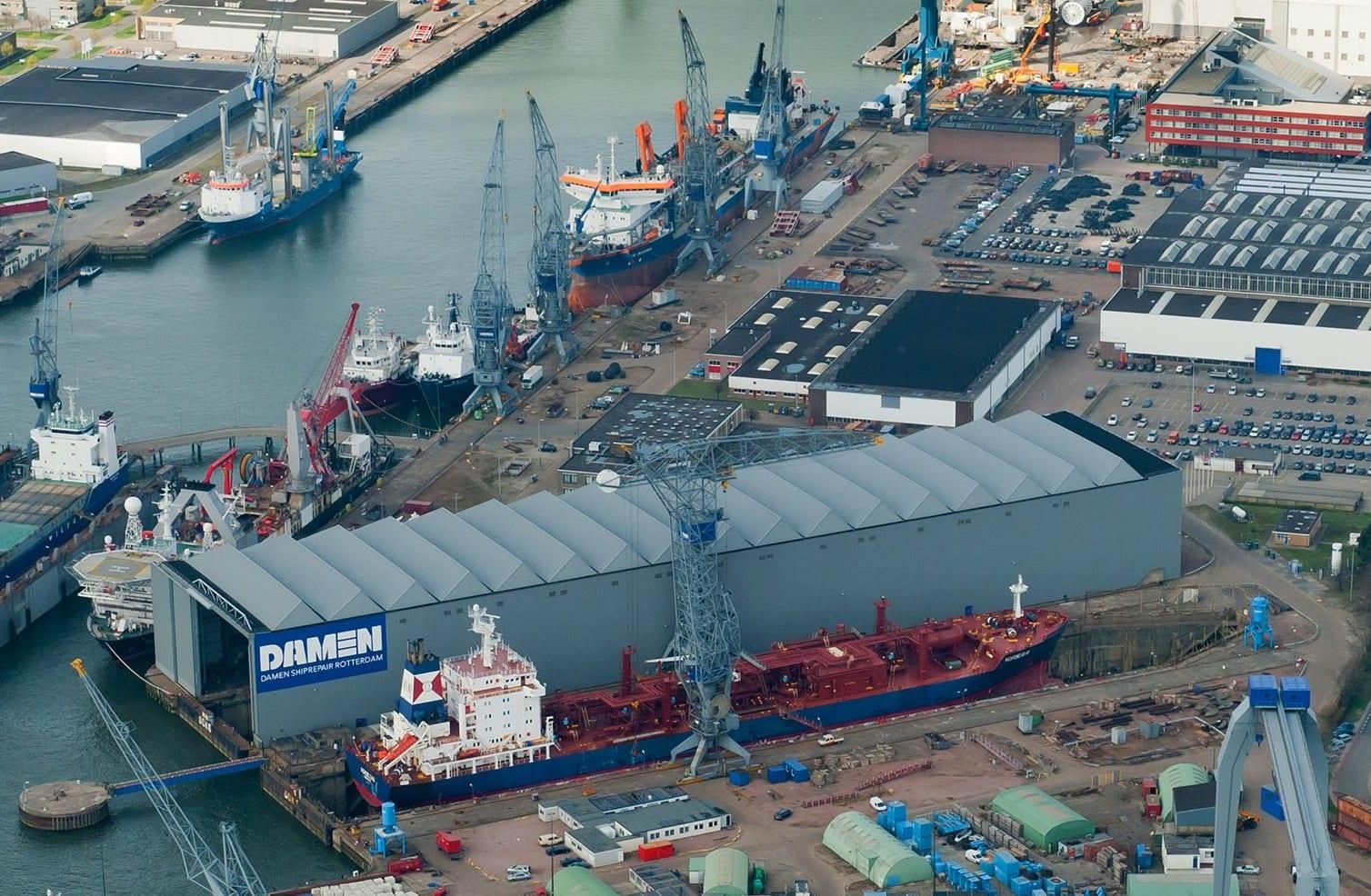 Damen Shipyards is een internationale scheepswerf met meer dan 8.000 medewerkers in 35 landen