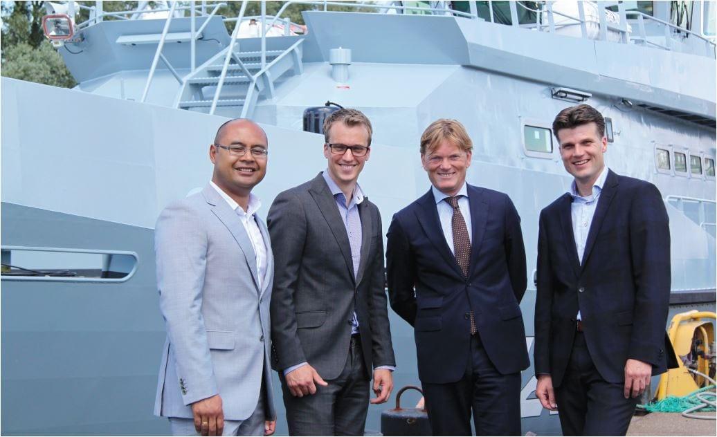 Acorel Managed Services ontzorgt Damen Shiphards verkoop wereldwijd