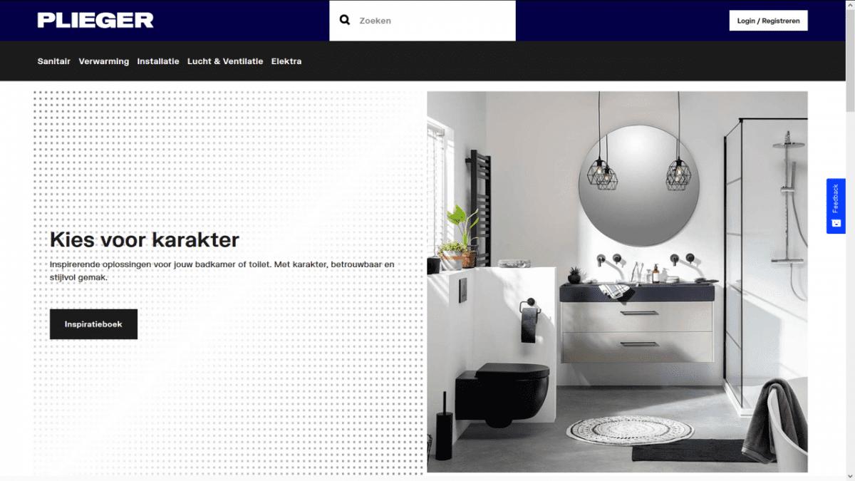 Plieger webshop optimale gebruikerservaring