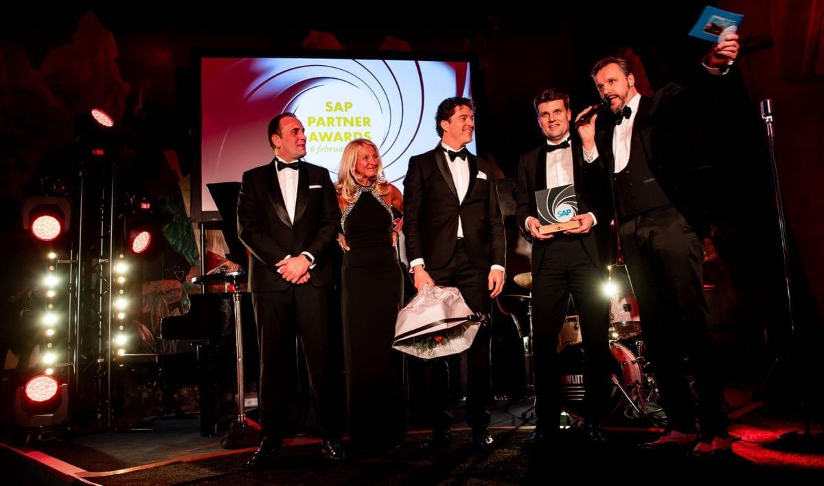 Trots op de award SAP Customer Experience Partner van het jaar