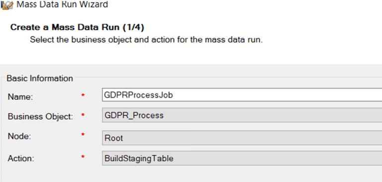 A GDPR Case: Utilizing Mass Data Runs, Acorel