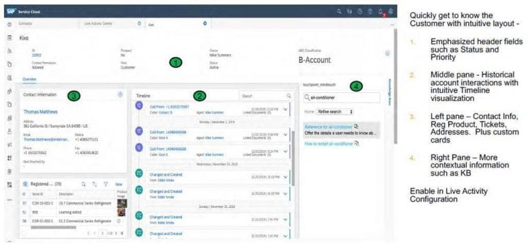 What to expect in the new SAP Cloud for Customer and Service Cloud release 20.02, Acorel