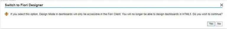 The Fiori Dashboard Designer in SAP Cloud for Sales and Service, Acorel